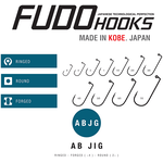 Jig Fudo ABJG Black-Nickel Nr.2/0