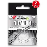 Struna Titanium (2buc/Plic) 30cm/15kg
