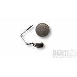 Micro Spinnerbait cu agrafa Paleta 14mm Clasic 0 Nickel