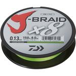 J-Braid X8 150m 0.10mm/6kg-13lb Chartreuse