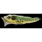 Frog Popper 7.5cm/14gr Green/Yellow