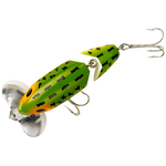 Jointed Clicker Jitterbug 8.9cm/17.7gr Frog White Belly