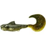 Mud Minnow Curltail 7.5cm (8buc/plic) Silver Mullet