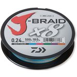 J-Braid X8 150m 0.10mm/6kg-13lb Multicolor