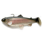 Swimbait Boot Tail 10cm Rainbow