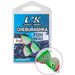 L&K Cheburashka Fish Head (3buc/pac) 6gr