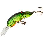 Deep Teeny Wee Crawfish Chartreuse Green Back