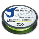J-Braid X4 135m 0.10mm/3.8kg-9lb Yellow