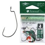 Sensual Offset Worm I BN (5buc/plic) Nr.1/0