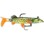 WildEye Live Pike 10cm/15gr (3buc/plic) Fire Pike