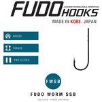 Carlige Fudo Worm 6101 SSB BN (6buc/plic) nr.1/0