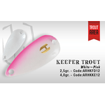 Keeper Trout Single Hook 4.5cm/5gr White/Pink