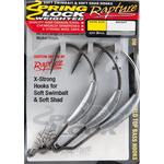 Carlige Offset Lestate Spring Lock (3buc/plic) 6/0 8gr