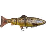 4D Line Thru Trout 15cm/40gr MS03 Dark Brown Trout