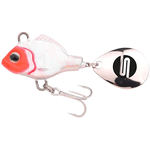 Asp Jigging Spinner UV 21gr White Bleeder
