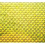 Autocolant Small 3D Fishscale (2buc/plic) Gold