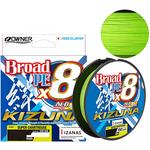 Owner Kizuna X8 Broad 135m 0.12mm/5.40kg Chartreuse