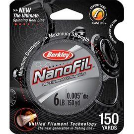 Nanofil Clear Mist 125m size 0.03mm-0.20mm, Varianta: Nanofil Clear Mist 125m 0.1628mm/7.659kg
