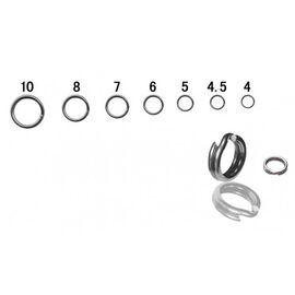 Inele Despicate (10buc/Plic) 4mm-8mm, Varianta: Inele Despicate (10buc/Plic) 5mm/8kg