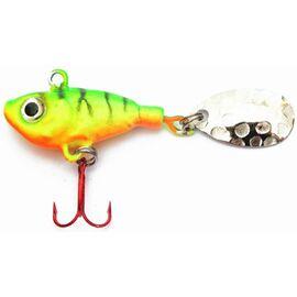 Spinner Jig Fish 13gr, Varianta: Spinner Jig Fish 13gr Fluo Firetiger