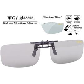 Ochelari Polarizati Clip-On Light Gray + Mirror