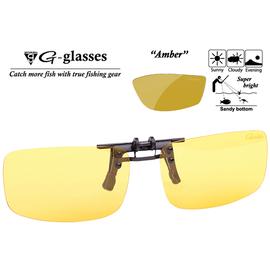 Ochelari Polarizati Clip-On Amber