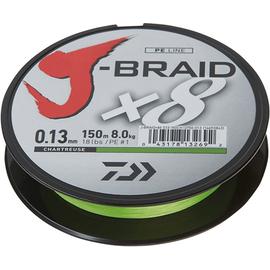 J-Braid X8 150m 0.06mm-0.28mm Chartreuse, Varianta: J-Braid X8 150m 0.22mm/17kg-37.5lb Chartreuse