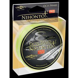 Nihonto Octa Braid Yellow Fluo 150m, Varianta: Nihonto Octa Braid Yellow Fluo 150m 0.20mm/18.10kg