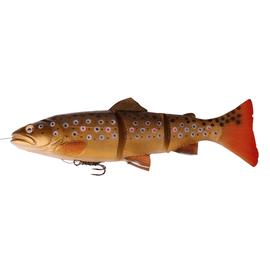 3D Line Thru Trout MS 15cm/40gr Dark Brown Trout