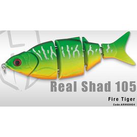 Real Shad 105S 10.5cm/25gr, Varianta: Real Shad 105S 10.5cm/25gr Fire Tiger