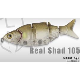 Real Shad 105S 10.5cm/25gr, Varianta: Real Shad 105S 10.5cm/25gr Ghost Ayu