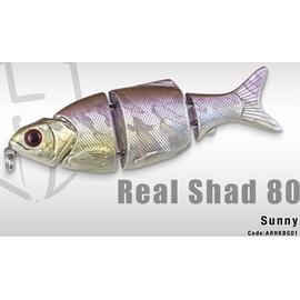 Real Shad 80S 8cm/10gr, Varianta: Real Shad 80S 8cm/10gr Sunny