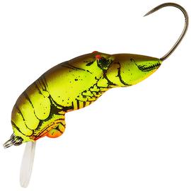 Micro Crawfish F58, Varianta: Micro Crawfish Chartreuse Brown