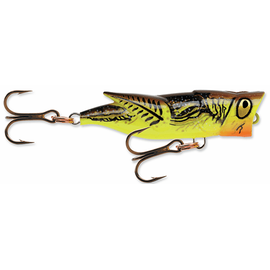 Hopper Popper 4cm/2gr, Varianta: Hopper Popper 4cm/2gr Brown Yellow