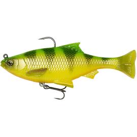 3D Pulse Tail Roach 10cm/17.5gr (2buc/pachet), Varianta: 3D Pulse Tail Roach 10cm/17.5gr (2buc/pachet) Firetiger