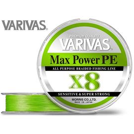 Max Power PE X8 150m 14.5lb/#0.6/0.128mm Lime Green
