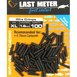 Bride Struna (100buc/plic), Varianta: Bride Struna - Wire Crimps (100buc/plic) XL 1.6mm