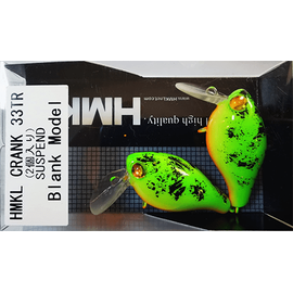 Crank 33TR 3.3cm/2.5gr Custom Painted (1buc/pac), Varianta: Crank 33TR 3.3cm/2.5gr Custom Painted (1buc/pac) Fire Bug