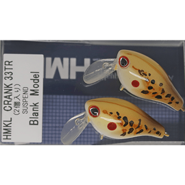 Crank 33TR 3.3cm/2.5gr Custom Painted (1buc/pac), Varianta: Crank 33TR 3.3cm/2.5gr Custom Painted (1buc/pac) Toad