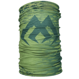 Bandana Mikado Neck Warmer Green, Varianta: Bandana Mikado Neck Warmer Green