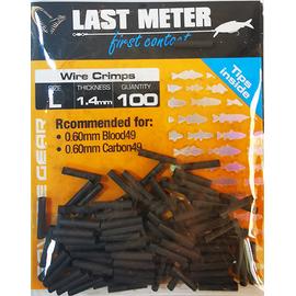 Bride Struna (100buc/plic), Varianta: Bride Struna - Wire Crimps (100buc/plic) L 1.4mm