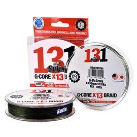 131 G-Core Braid x13 150m 0.10mm-0.20mm Low-Vis Green, Varianta: 131 G-Core Braid x13 150m 0.148mm/18lb/8.10kg Low-Vis Green