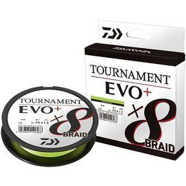 Tournament 8x Braid EVO+ 135m Chartreuse 10.7lb 0.08mm, Varianta: Tournament 8x Braid EVO+ 135m Chartreuse 10.7lb 0.08mm