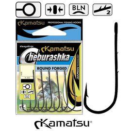 Carlige Round Forged Cheburashka K-60 Nr.10-5/0, Varianta: Carlige Round Forged Cheburashka K-60 (8buc/plic) Nr.10