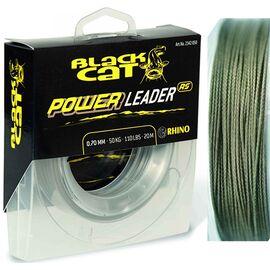 Fir Black Cat Power Leader 20m 1.00mm/80kg