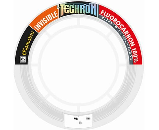 Fluorocarbon 100% Techron Hard Spinning 10m 1.02mm/50.51kg