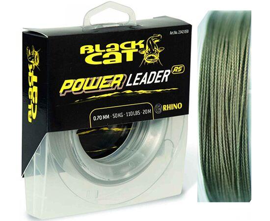 Fir Black Cat Power Leader 20m 0.70mm/50kg
